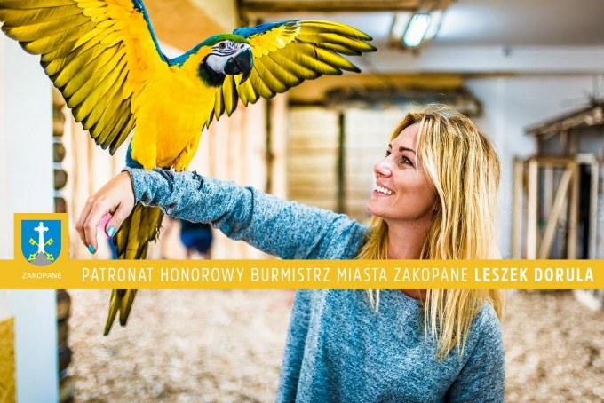 najwięszka papugarnia egzotycze zakopane